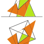 Quadratische Pyramide mit Dreieck allgemeiner Lage