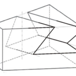 Schwalbenschwanznut in Prisma