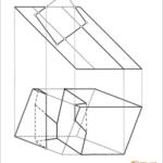 Verschneidung von zwei quadratische Prismen  A,G