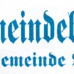 Historische Gemeindeblätter der Gemeinde Wels