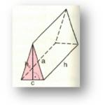 Berechnung eines dreiseitigen Prismas
